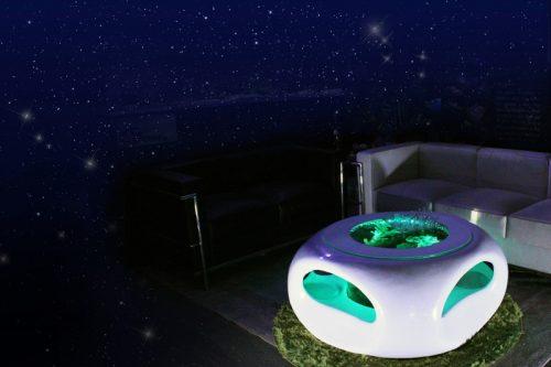 グッドアクアリウムデザイン賞バーズアイ水槽「宙SORA」UFO95